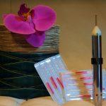 Stift mit Spitze zum Auffinden von Akupunkturpunkten
