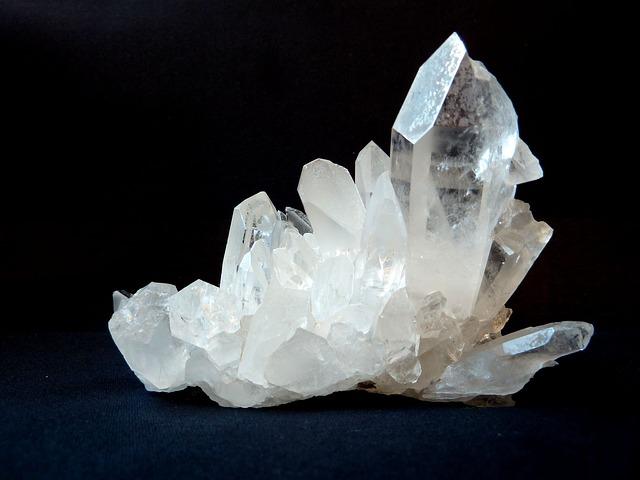 Stein aus Bergkristall